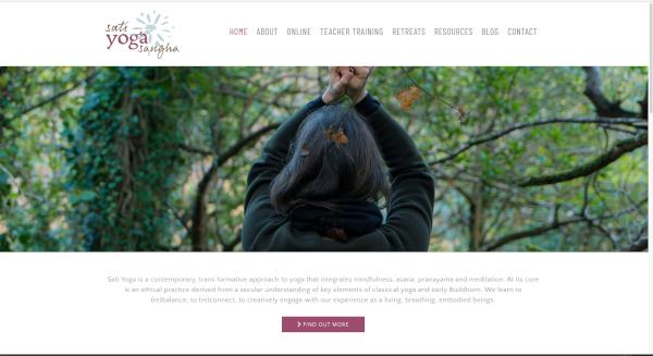 Sati yoga site